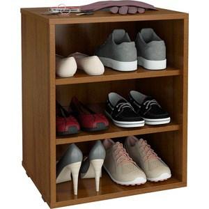 цена на Полка для обуви Мастер Лана-1 (ПОЛ-1П) (орех) МСТ-ПОЛ-1П-ОР-16