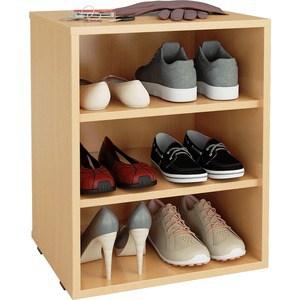 цена на Полка для обуви Мастер Лана-1 (ПОЛ-1П) (бук) МСТ-ПОЛ-1П-БК-16