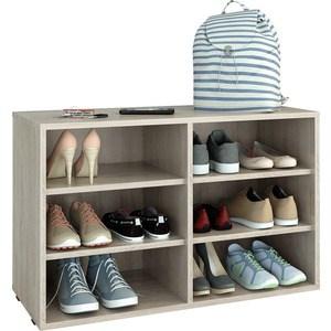 цена на Полка для обуви Мастер Лана-2 (ПОЛ-2П) (дуб сонома) МСТ-ПОЛ-2П-ДС-16
