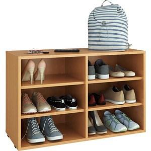 Полка для обуви Мастер Лана-2 (ПОЛ-2П) (бук) МСТ-ПОЛ-2П-БК-16 цены онлайн