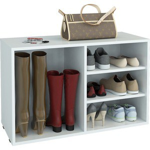 цена на Полка для обуви Мастер Лана-2 ПОЛ-2 (1С+1П) (белый) МСТ-ПОЛ-1С-1П-БТ-16
