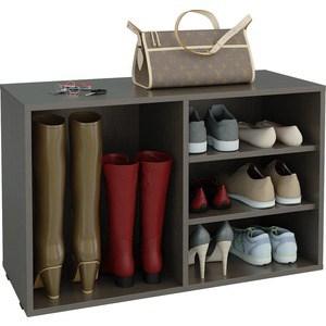 цена на Полка для обуви Мастер Лана-2 ПОЛ-2 (1С+1П) (венге) МСТ-ПОЛ-1С-1П-ВМ-16