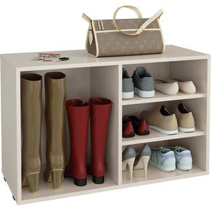 цена на Полка для обуви Мастер Лана-2 ПОЛ-2 (1С+1П) (дуб молочный) МСТ-ПОЛ-1С-1П-ДМ-16