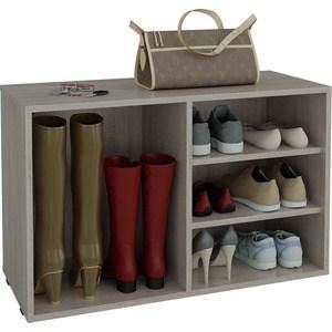 цена на Полка для обуви Мастер Лана-2 ПОЛ-2 (1С+1П) (дуб сонома) МСТ-ПОЛ-1С-1П-ДС-16