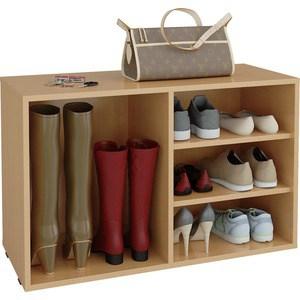Полка для обуви Мастер Лана-2 ПОЛ-2 (1С+1П) (бук) МСТ-ПОЛ-1С-1П-БК-16