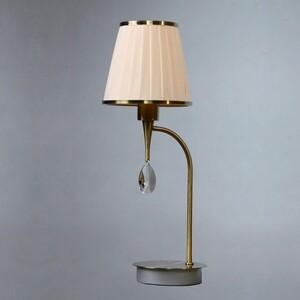 купить Настольная лампа BRIZZI MA 01625T/001 Bronze Cream по цене 4165.5 рублей