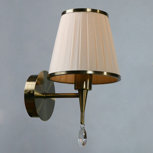 Бра BRIZZI MA 01625W/001 Bronze Cream бра brizzi alora ma 01625w 001 chrome