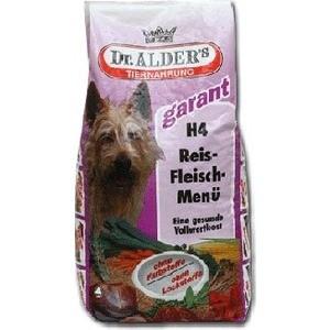 Сухой корм Dr.ALDERs Garant H4 Rice-Meat Menu хлопья с говядиной и рисом для активных собак 5кг (109)