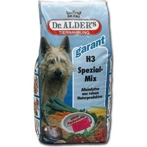 Сухой корм Dr.ALDERs Garant H3 Special-Mix хлопья с мясом и овощами для активных собак 15кг (110)