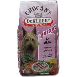 Сухой корм Dr.ALDERs Crocant Garant С4 Aktiv Premium крокеты с говядиной для активных собак 18кг (132 )
