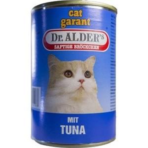 Консервы Dr.ALDERs Cat Garant Saftige Brockchen Mit Tuna с тунцом для кошек 415г (1937)