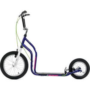 Самокат 2-х колесный Yedoo City New 2016 Фиолетовый/белый (111406) самокат 2 х колесный amigo torino sport фиолетовый
