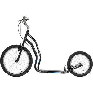 цена на Самокат 2-х колесный Yedoo Mezeq Vbr New Черный/синий (111302)