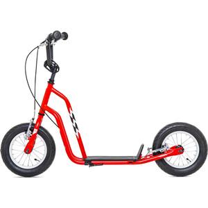 цены на Самокат 2-х колесный Yedoo Wzoom Красный (110907)  в интернет-магазинах