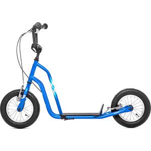 цена на Самокат 2-х колесный Yedoo Wzoom 2016 Синий (110909)