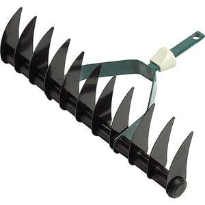 Грабли аэраторные Raco Maxi 11 зубцов, 350мм (4230-53838) мотыжка садовая maxi raco без серии 4230 53813