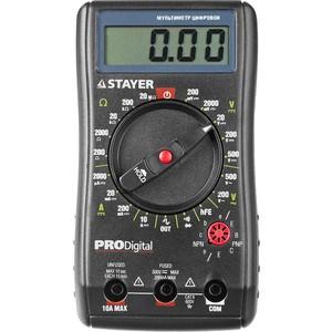 Мультиметр цифровой Stayer Professional PRODigital (45310) мультиметр мастер professional m393