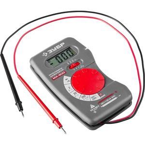 Мультиметр цифровой Зубр МХ-600 Мастер (59800)