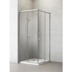 Душевая дверь Radaway Idea KDD/L 80 прозрачная, хром, левая (387061-01-01L) боковая стенка radaway idea s1 l 120x2005 387054 01 01l стекло прозрачное