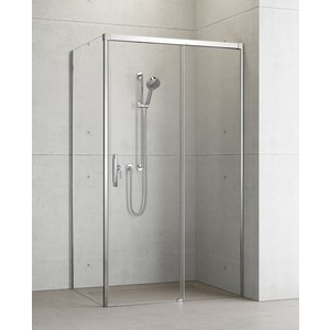 Боковая стенка для душевой двери Radaway Idea - S1/R 110 прозрачная, хром, правая (387053-01-01R)