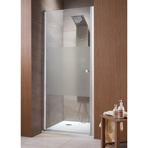 Душевая дверь Radaway EOS DWJ 90 прозрачная, хром (37903-01-01N) душевая дверь radaway carena dwj 90 l хром коричневое
