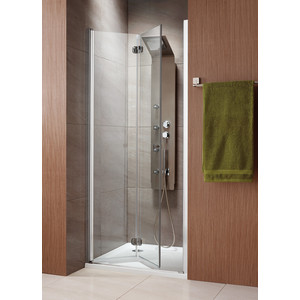 Душевая дверь Radaway EOS DWB/L 80 прозрачная, хром, левая (37813-01-01NL) все цены