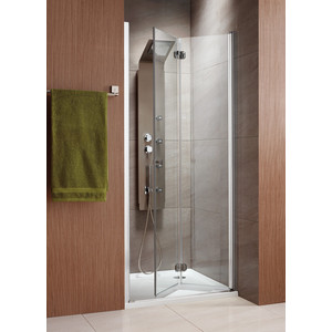 Душевая дверь Radaway EOS DWB/R 90 прозрачная, хром, правая (37803-01-01NR) душевая дверь sturm lybre lrp3ir08792tr 90 r
