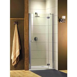 Душевая дверь Radaway Torrenta DWJ/R 90 прозрачная, хром, правая (32000-01-01N) душевая дверь radaway carena dwj 90 l хром коричневое