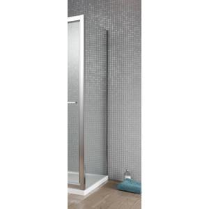Боковая стенка для душевой двери Radaway Twist S 80 прозрачная, хром (382011-01)