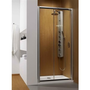 Душевая дверь Radaway Premium Plus DWJ 110 рифленая, хром (33302-01-06N)