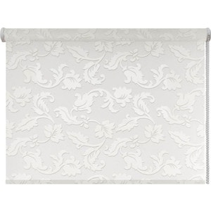 Рулонная штора DDA Жасмин (принт) Белый 100x170 см цена и фото