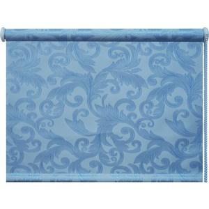 Рулонная штора DDA Престиж (жаккард) Голубой 80x170 см рулонные шторы dda престиж жаккард голубой 100x170 см