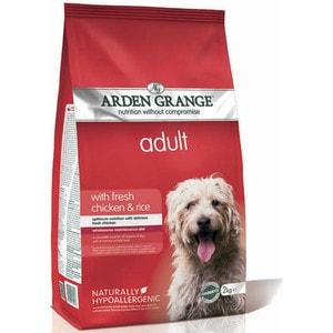 Сухой корм ARDEN GRANGE Adult Dog Hypoallergenic with Fresh Chicken&Rice гипоалергенный с курицей и рисом для взрослых собак 2кг (AG603287)