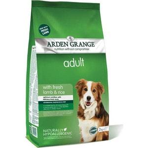 Сухой корм ARDEN GRANGE Adult Dog Hypoallergenic with Fresh Lamb&Rice гипоалергенный с ягненком и рисом для взрослых собак 2кг (AG604284)