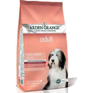 Сухой корм ARDEN GRANGE Adult Dog Hypoallergenic with Fresh Salmon&Rice гипоалергенный с лососем и рисом для взрослых собак 12кг (AG605342)
