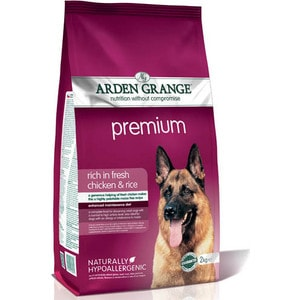 Сухой корм ARDEN GRANGE Adult Dog Premium Hypoallergenic Rich in Fresh Chicken &Rice гипоалергенный с курицей и рисом для взрослых собак 12кг (AG608343) сухой корм arden grange adult dog performance hypoallergenic with fresh chicken