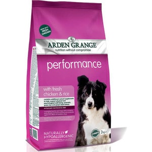 Сухой корм ARDEN GRANGE Adult Dog Performance Hypoallergenic with Fresh Chicken&Rice гипоалергенный с курицей и рисом для собак 15кг (AG609166) сухой корм arden grange adult dog performance hypoallergenic with fresh chicken