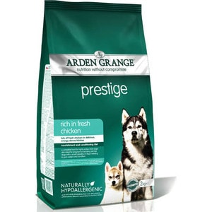 Сухой корм ARDEN GRANGE Adult Dog Prestige Hypoallergenic Rich in Fresh Chicken гипоалергенный с курицей для взрослых собак 15кг (AG610162) сухой корм arden grange adult dog performance hypoallergenic with fresh chicken