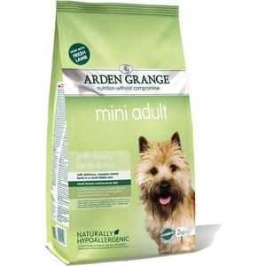 Сухой корм ARDEN GRANGE Adult Dog Mini Hypoallergenic with Fresh Lamb&Rice с ягненком и рисом для взрослых собак мелких пород 6кг (AG622318) фото