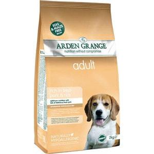 Сухой корм ARDEN GRANGE Adult Dog Hypoallergenic Rich in Fresh Pork&Rice гипоалергенный со свининой и рисом для взрослых собак 2кг (AG626286)