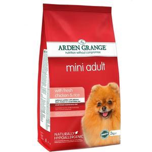 Сухой корм ARDEN GRANGE Adult Dog Mini Hypoallergenic with Fresh Chicken&Rice гипоалергенный с курицей и рисом для собак мелких пород 2кг (AG631280)