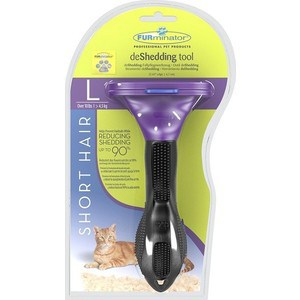 Фурминатор FURminator deShedding Tool Short Hair L Large Cat для больших короткошерстных кошек 7см