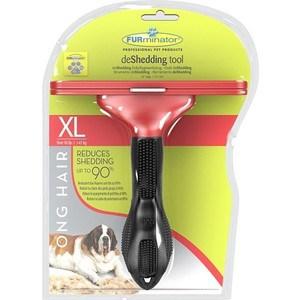купить Фурминатор FURminator deShedding Tool Long Hair XL Giant Dog для длинношерстных собак гигантских пород 13см по цене 2844.6 рублей