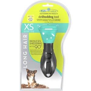 Фурминатор FURminator deShedding Tool Long Hair XS Toy Dog для длинношерстных собак карликовых пород 3см