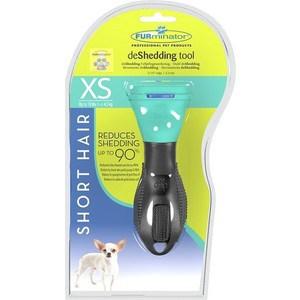 Фурминатор FURminator deShedding Tool Short Hair XS Toy Dog для короткошерстных собак карликовых пород 3см