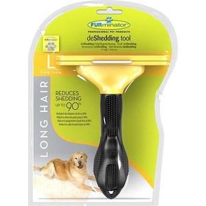 Фурминатор FURminator deShedding Tool Long Hair L Large Dog для длинношерстных собак крупных пород 10см