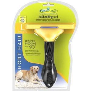 Фурминатор FURminator deShedding Tool Short Hair L Large Dog для короткошерстных собак крупных пород 10см