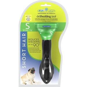 Фурминатор FURminator deShedding Tool Short Hair S Small Dog для короткошерстных собак мелких пород 4см
