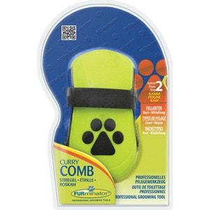 Расческа FURminator Curry Comb резиновая зубцы 5мм