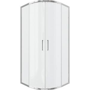 Душевой уголок Bravat Drop 90x90 прозрачный, хром (BS090.1200A)